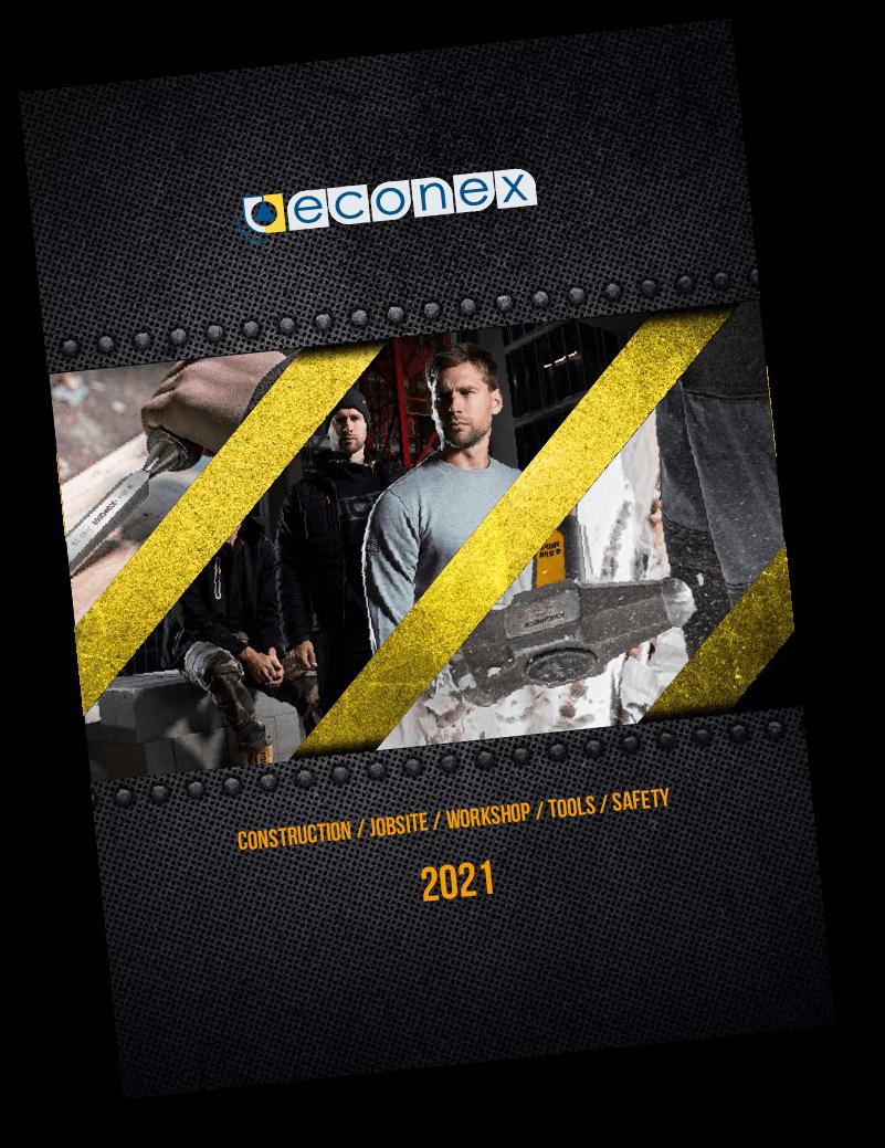 Econex Catalogue Cover